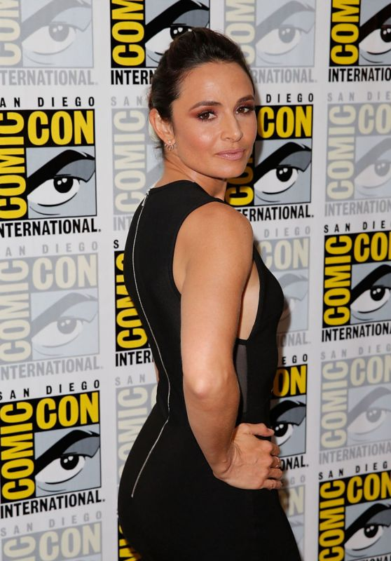 Mia Maestro - The Strain Press Line at Comic-Con in San Diego, July 2015