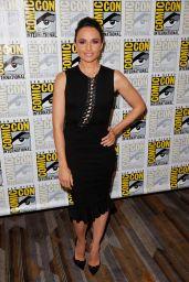 Mia Maestro - The Strain Press Line at Comic-Con in San Diego, July 2015