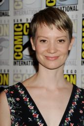 Mia Wasikowska - Crimson Peak Press Line at Comic-Con in San Diego