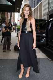 Michelle Monaghan Fashion - Leaving her Hotel in NYC, July 2015