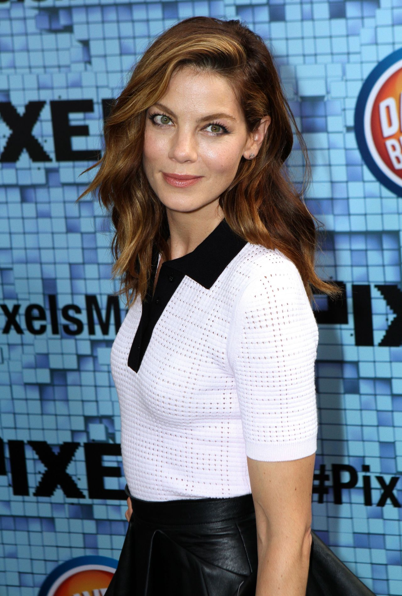 Michelle Monaghan Pixels Premiere In New York City