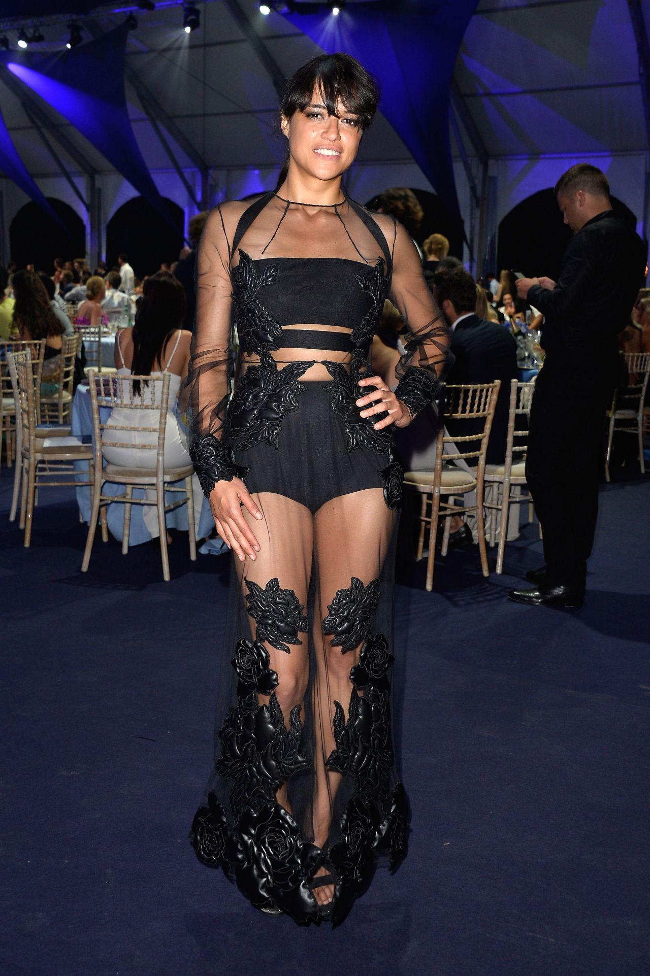 Michelle Rodriguez 2015 Leonardo Dicaprio Foundation