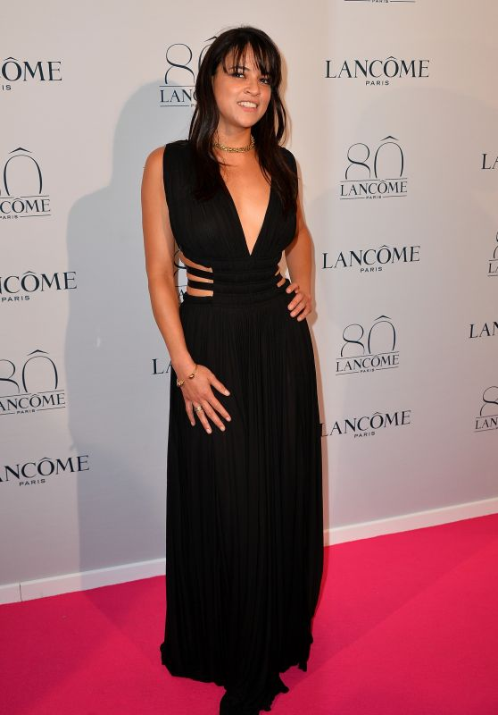 Michelle Rodriguez - Lancome Celebrates 80 Years of Beauty Party in Paris