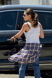 Mila Kunis - Out in West Hollywood, July 2015