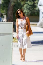 Minka Kelly Summer Style - Leaving Meche Salon in Beverly Hills, July 2015