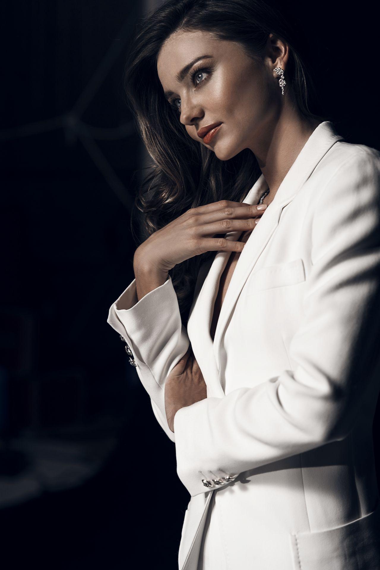 Miranda Kerr Photoshoot Swarovski Holiday 2015 Collection