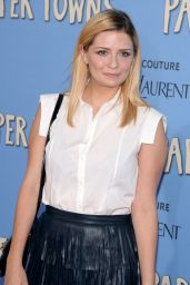 Mischa Barton - Paper Towns Premiere in New York City