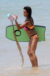 Monica Cruz Bikini Candids -  Holidays in Cadiz, July 2015