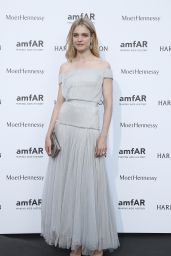 Natalia Vodianova on Red Carpet – amfAR Dinner in Paris, July 2015