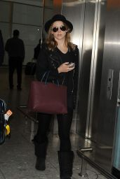 Natalie Dormer Airport Style - at London