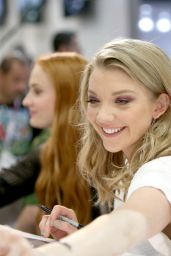 Natalie Dormer – Game of Thrones Signing – 2015 Comic Con in San Diego