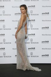 Natasha Poly - amfAR Dinner at the Pavillon LeDoyen - Paris Fashion Week Haute Couture - July 2015