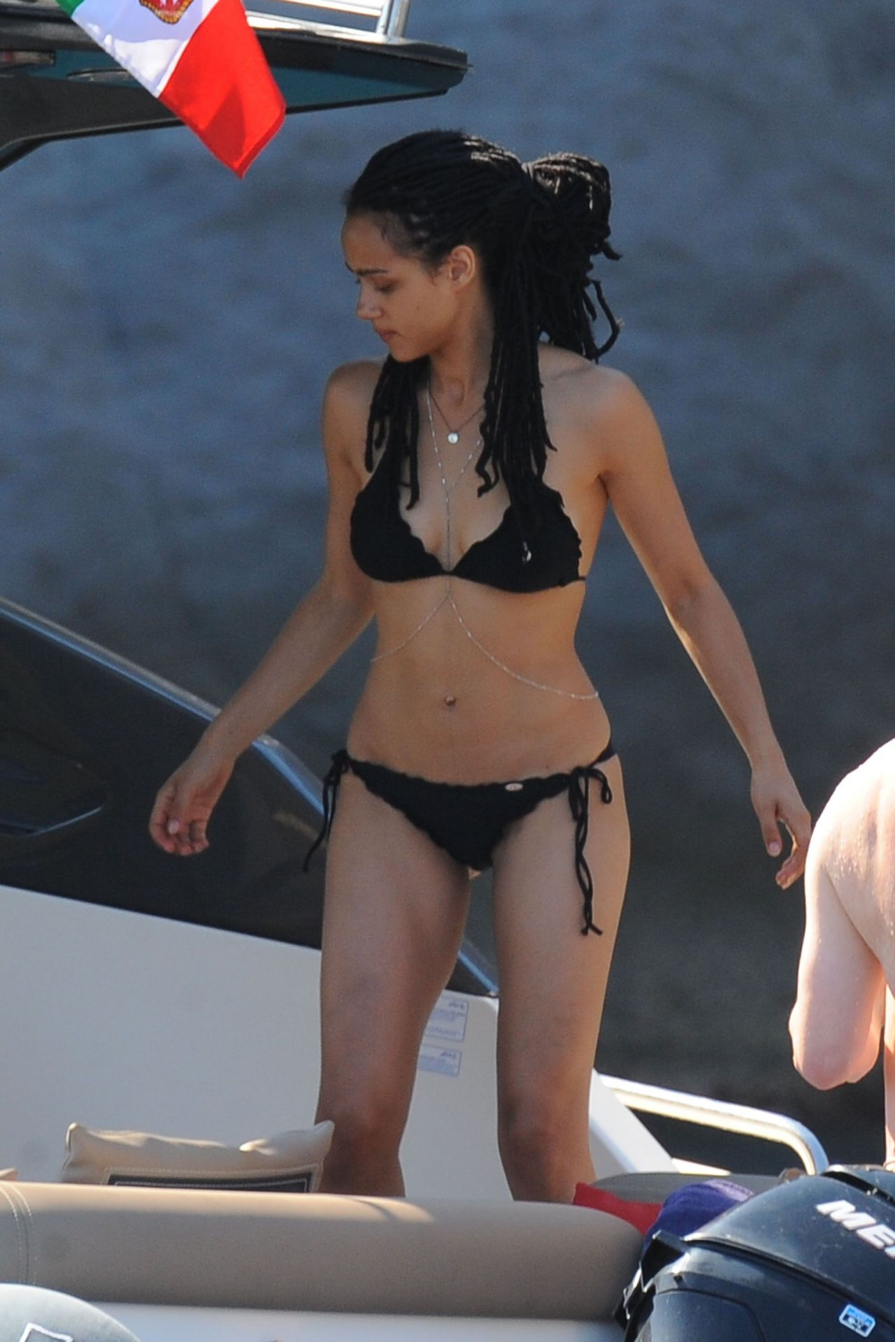 Nathalie Emmanuel in a Bikini in Ischia, July 2015