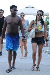 Nathalie Emmanuel in a Bikini in Ischia, July 2015