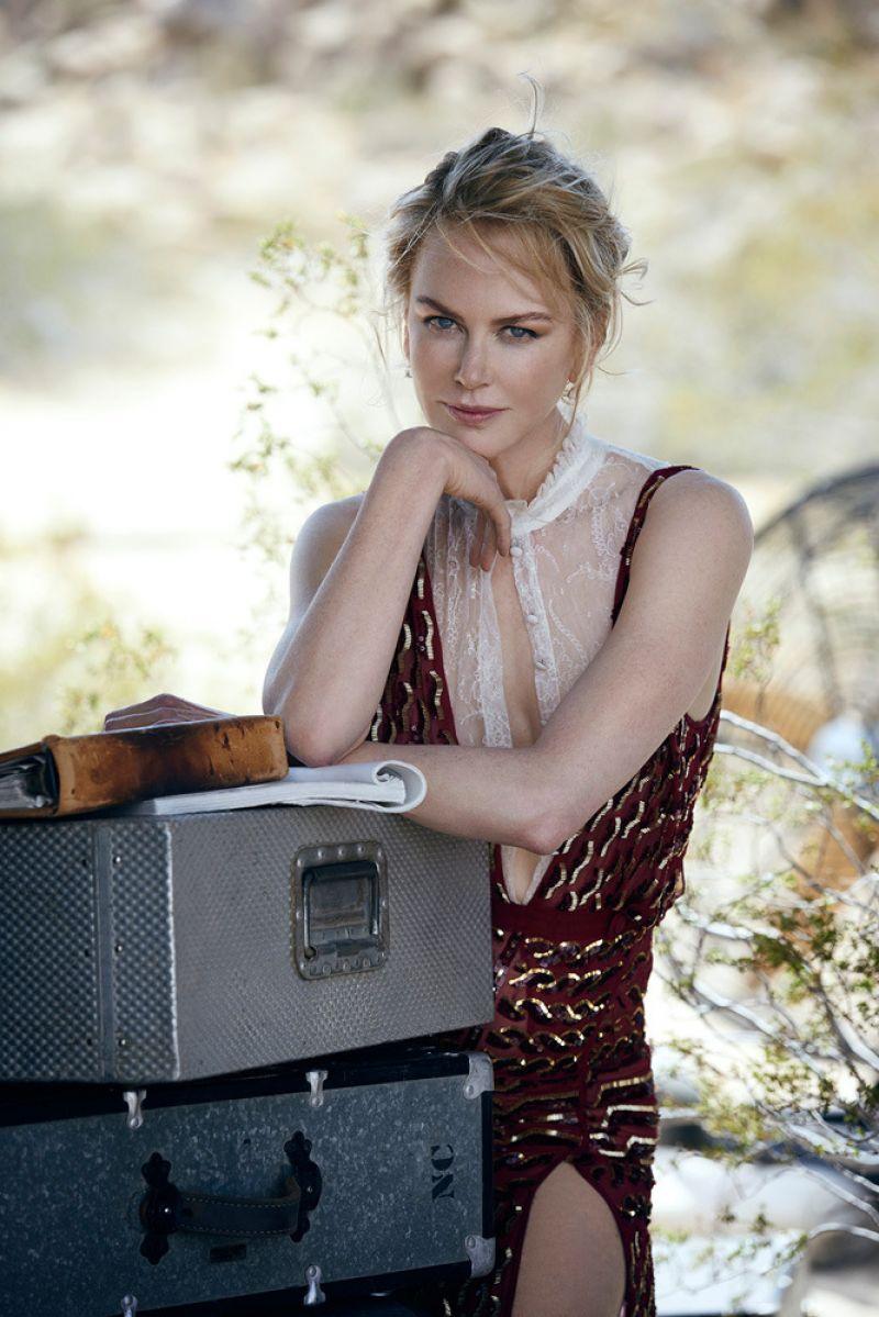 Nicole Kidman – Photoshoot for Vogue August 2015