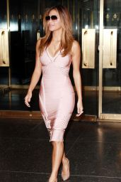 Nicole Scherzinger Arriving to Appear on Today Show in New York City, July 2015