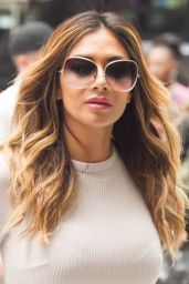 Nicole Scherzinger Style - Outside Sirius XM Studios in NYC, July 2015