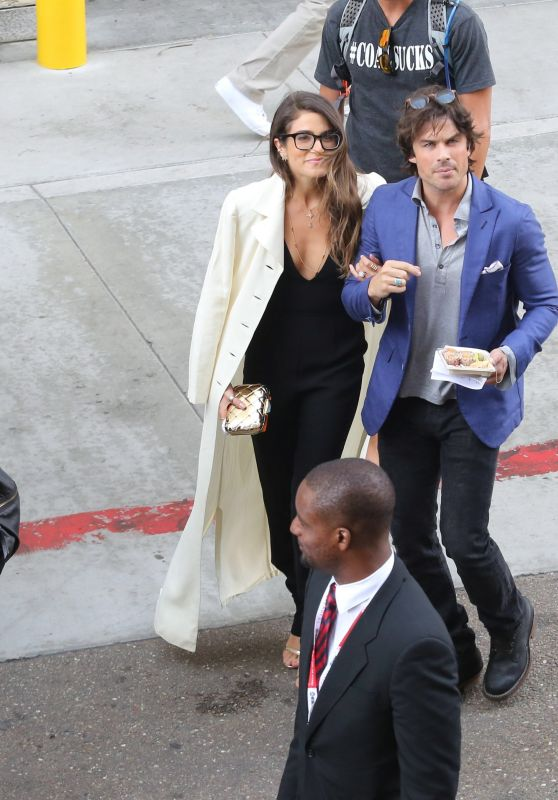 Nikki Reed Arriving at Comic-Con in San Diego, July 2015
