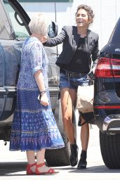 Nikki Reed - Shopping in Burbank, July 2015
