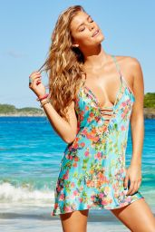 Nina Agdal - Beach Bunny Love Haus Collection 2015