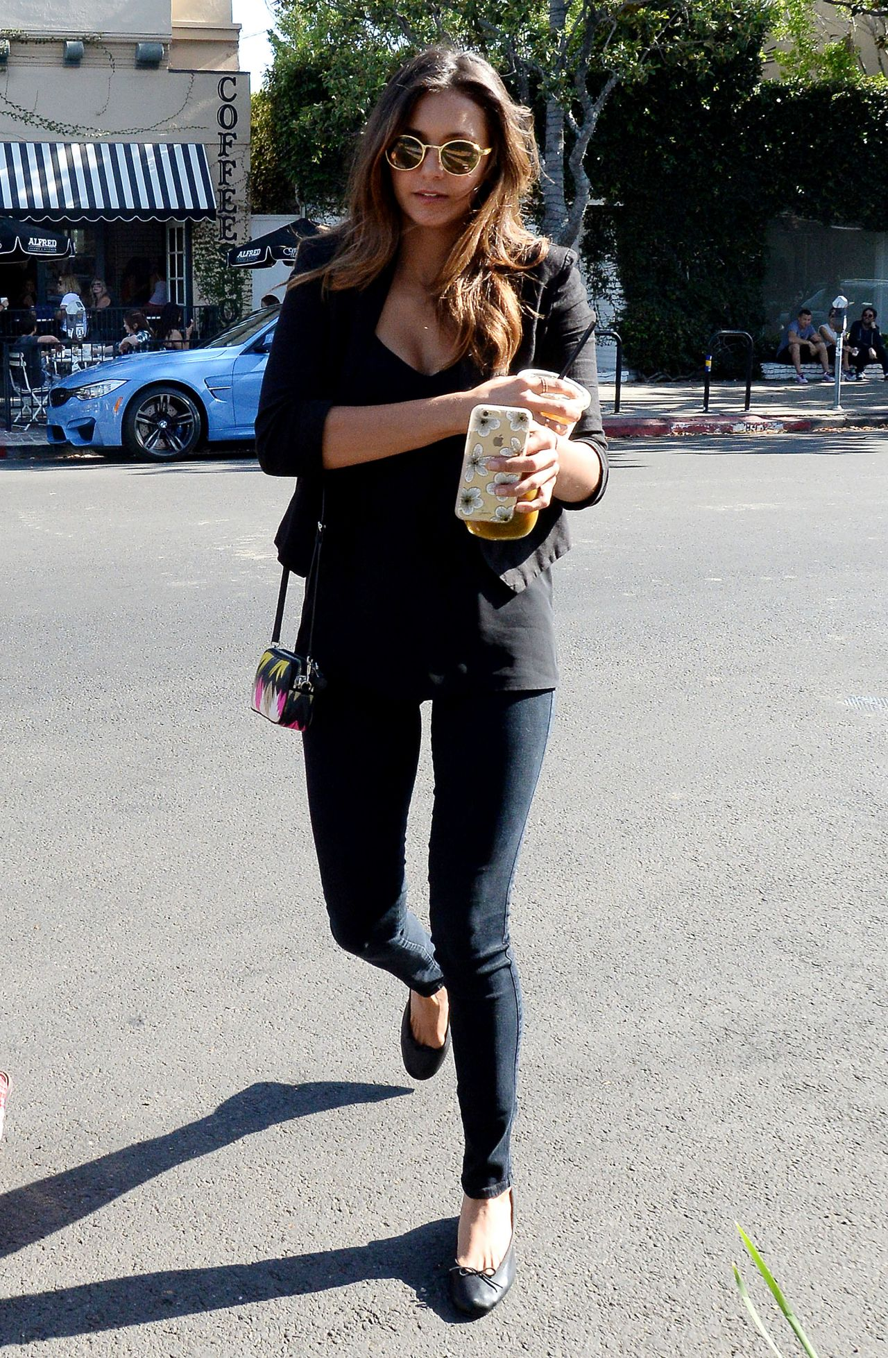 Nina Dobrev Casual Style Out In Los Angeles July 2015