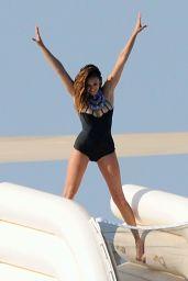 Nina Dobrev in a Swimsuit in St Tropez, July 2015