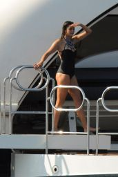 Nina Dobrev in a Swimsuit in St Tropez (more photos), July 2015