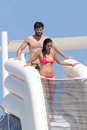 Nina Dobrev in Red Bikini (more pics) – St Tropez, July 2015