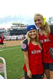 Olivia Holt - 2015 MLB All-Star Legends and Celebrity Softball Game in Cincinnati