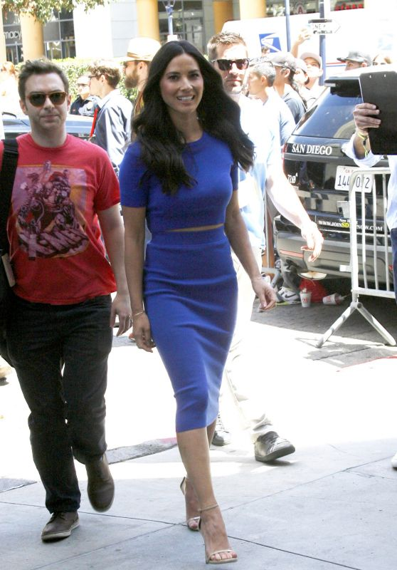 Olivia Munn at the Conan Show Brodcasting From Comic-Con in San Diego, July 2015