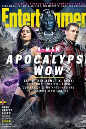 Olivia Munn - Entertainment Weekly X-Men Apocalypse Wow, July 24th 2015