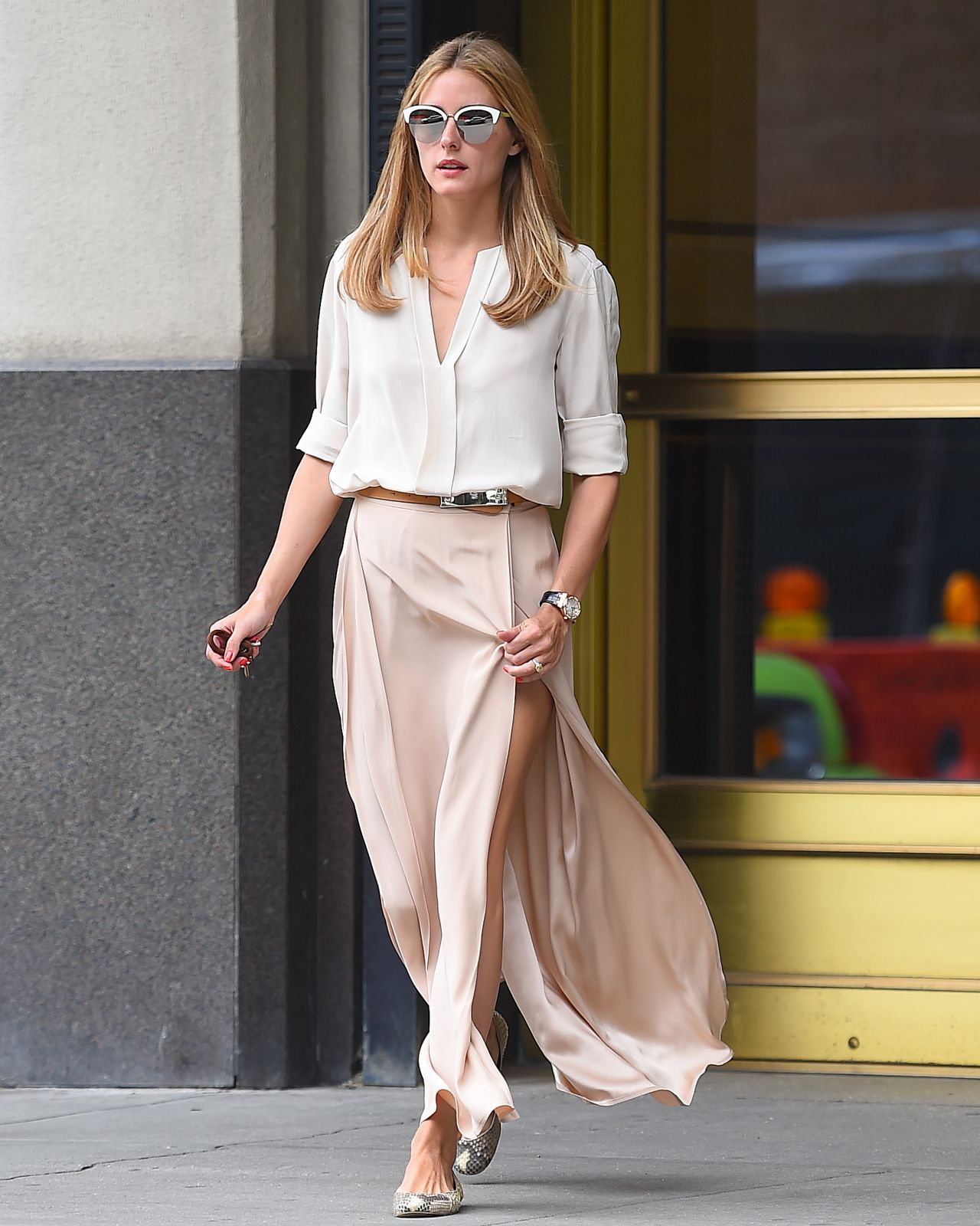 Olivia Palermo Summer Style Out In New York City July 2015