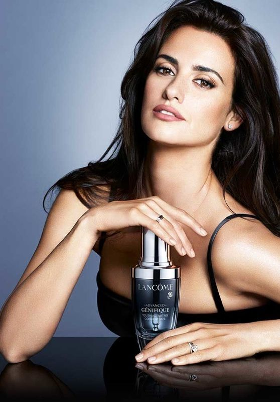 Penelope Cruz - Lancome Advanced Génifique Ad