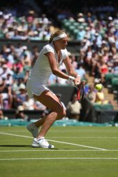 Petra Kvitova – Wimbledon Tournament 2015 – First Round