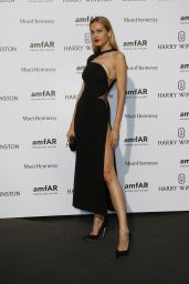 Petra Nemcova on Red Carpet – amfAR Dinner in Paris, July 2015