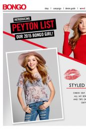 Peyton R. List – Bongo Campaign 2015 – Part 2