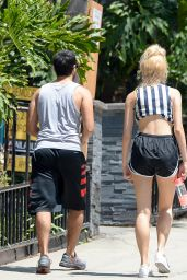 Pixie Lott in Shorts - Out in LA, June 2015