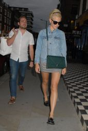 Pixie Lott Leaving the Chiltern Firehouse in London, July 2015
