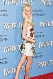 Poppy Delevingne - Paper Towns Premiere in New York City