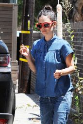 Rachel Bilson - Byron Williams Salon in Beverly Hills, July 2015