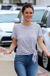 Rachel Bilson Street Style - Out and About in Studio City, July 2015