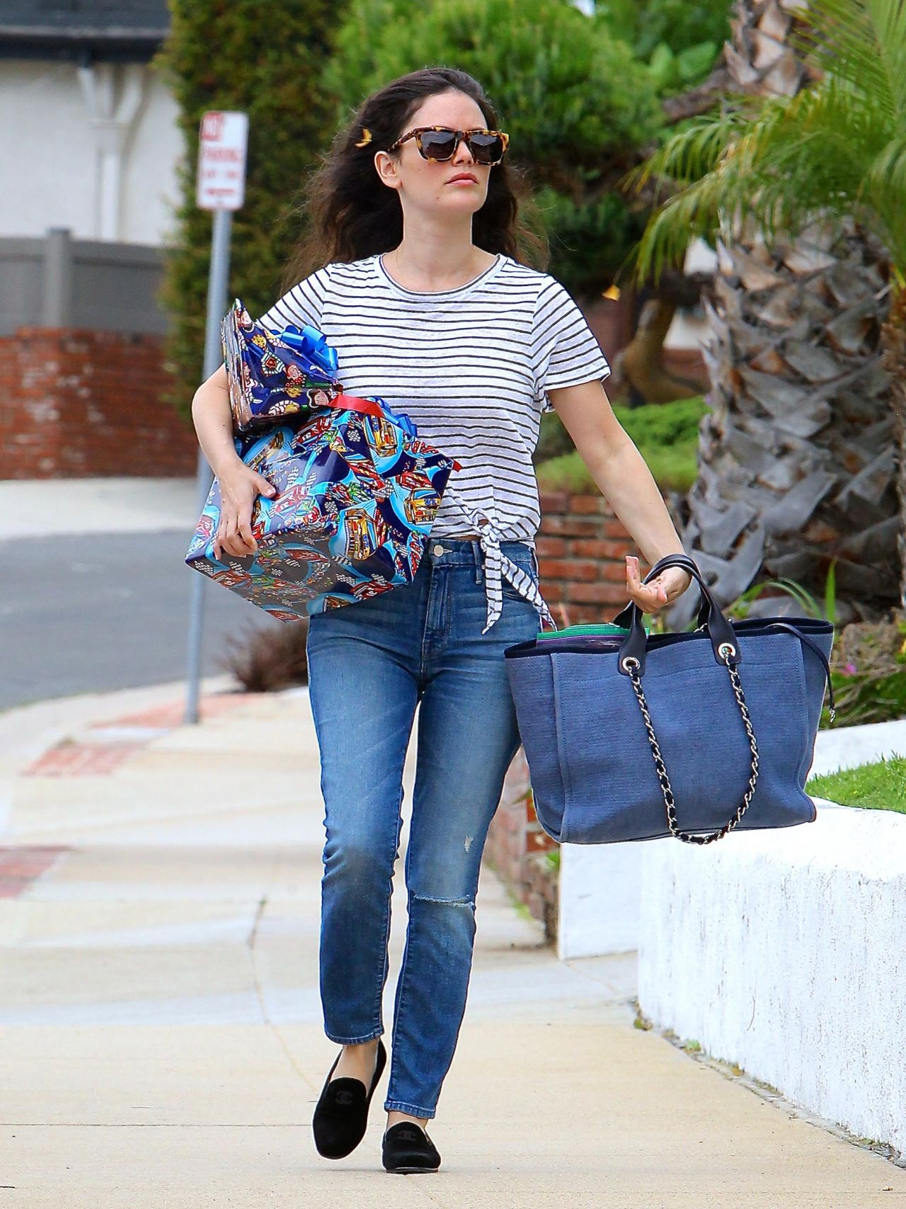 Rachel Bilson Street Style - Out and About in Studio City