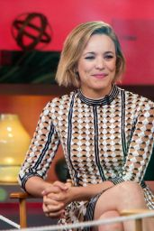 Rachel McAdams at Good Morning America in NY, July 2015
