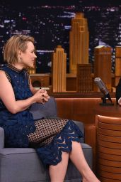 Rachel McAdams at the Tonight Show With Jimmy Fallon in New York City, July 2015