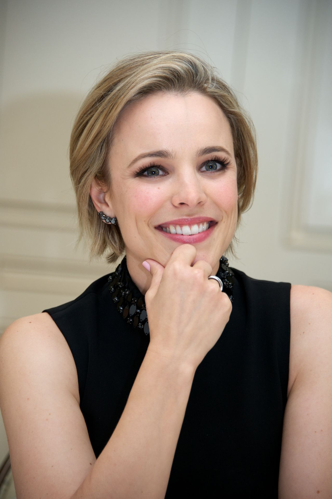 Rachel Mcadams Southpaw Press Conference In Beverly Hills