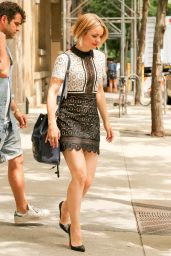 Rachel McAdams Style Outside ABC Studios in New York City, July 2015