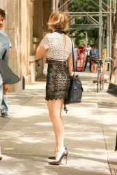 Rachel McAdams Style Outside ABC Studios in New York City, July 2015