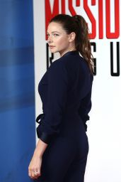 Rebecca Ferguson - Mission: Impossible - Rogue Nation Premiere in London