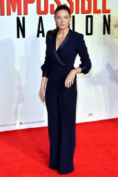 Rebecca Ferguson - Mission: Impossible - Rogue Nation UK Fan Screening