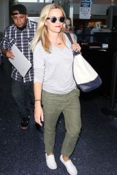 Reese Witherspoon at LAX Airport, July 2015